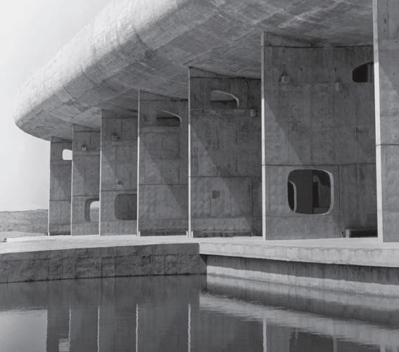<p>Assembly Building, Chandigarh, India, 1962 by Le Corbusier</p>