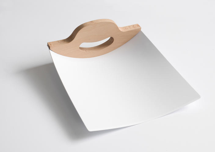 <p>Dustpan by Darin Montgomery</p>