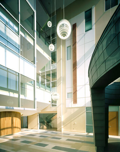 <p>Centers for Disease Control and Prevention, Building 106. Fitwel: three-star rated. (Architect: Perkins + Will)</p>