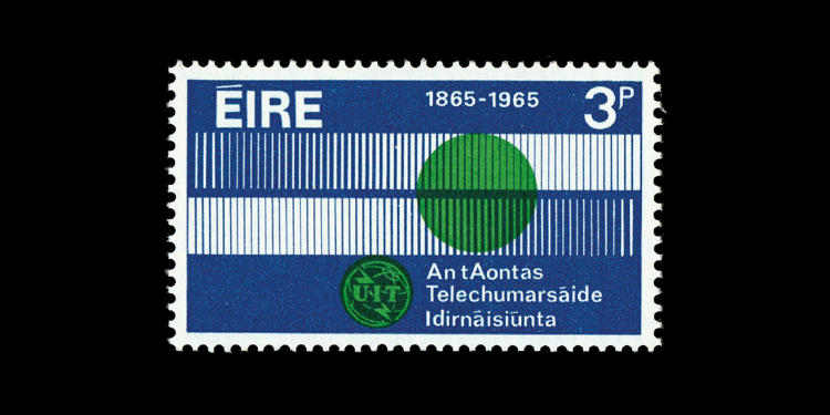 <p>Ireland, 1965; designed by Peter Wildbur</p>