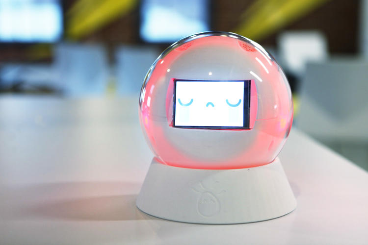 <p>Over time, the robot gives caregivers detailed data on progress the child makes.</p>