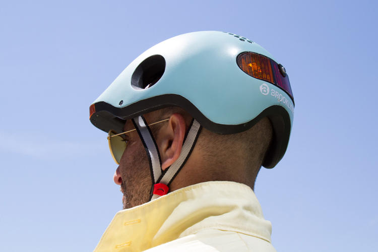 <p>This new smart bike helmet will warn you if a car is in your blind spot.</p>