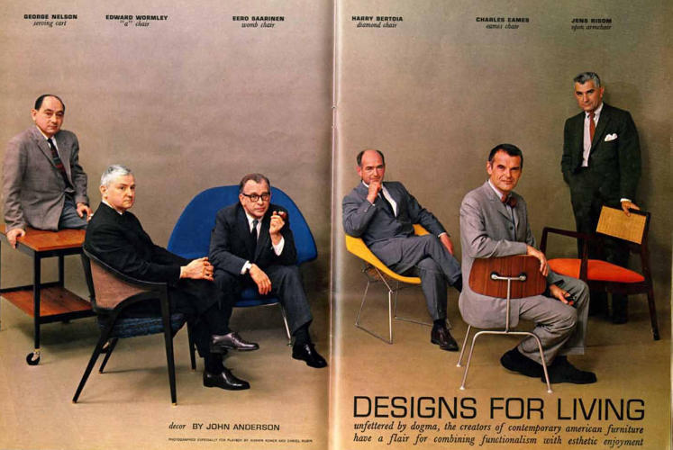 <p>&quot;Designs for Living&quot; article in July 1961 <em>Playboy</em> magazine issue</p>