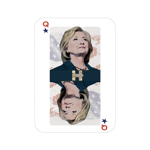 <p>Hillary Clinton By Stefi Goldstein</p>