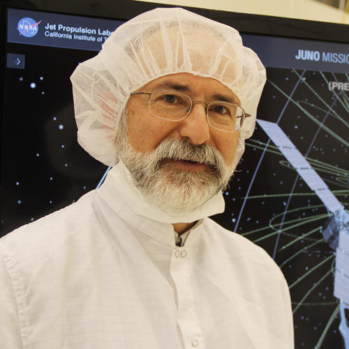 <p>Kevin Hussey, manager of visualization technology, applications, and development, whose team designed the Eyes on the Solar System app.</p>