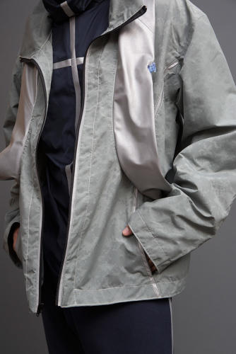 <p>This jacket is also a flotation device.</p>