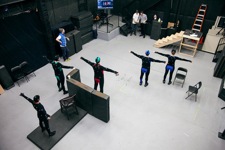 <p>A look behind the scenes, as the VR effects are created.</p>