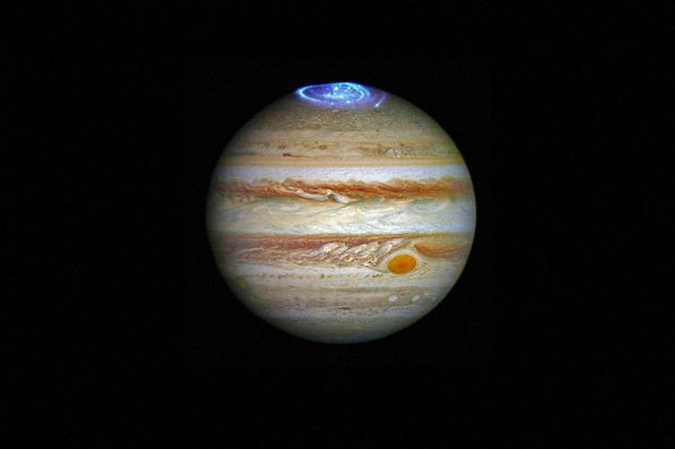 <p>Astronomers are using NASA's Hubble Space Telescope to study auroras--stunning light shows in a planet's atmosphere--around Jupiter.</p>