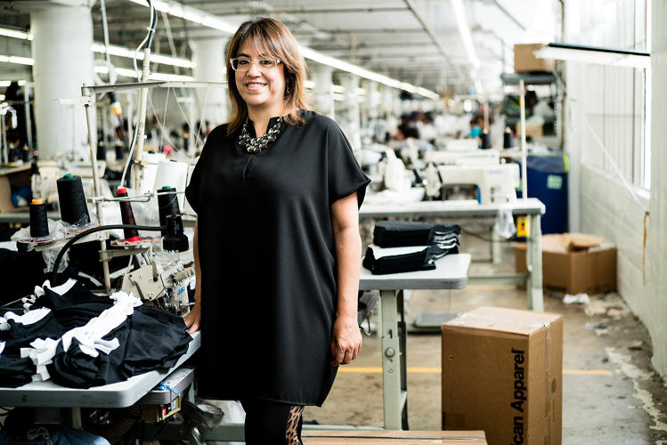 <p>Director of costing <strong>Margarita Najera</strong> is charged with making the factory more efficient and productive for both the company and workers.</p>