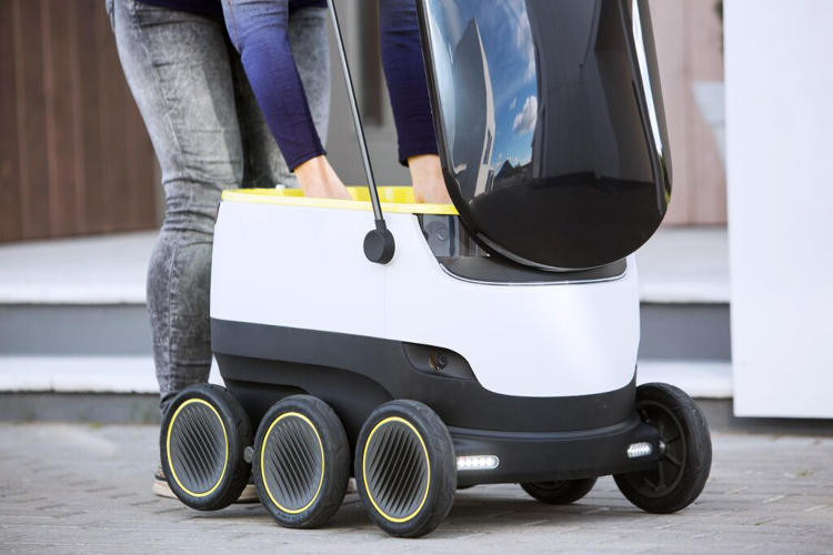 <p>Starship Technologies, launched by some of the co-founders of Skype, is beginning live trials of a six-wheeled delivery robot.</p>