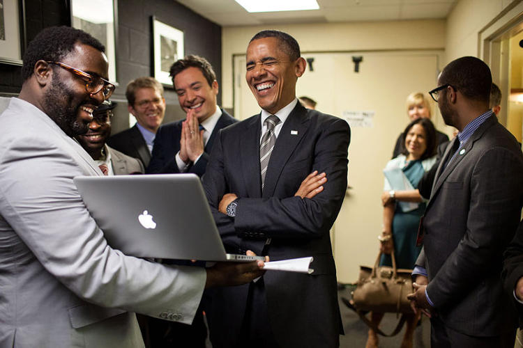 <p>Candid photos of President Obama, by photographer Pete Souza</p>