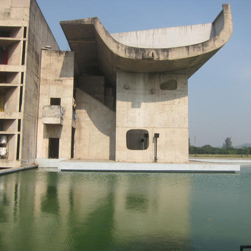 <p>Ousides Assembly, Chandigarh</p>