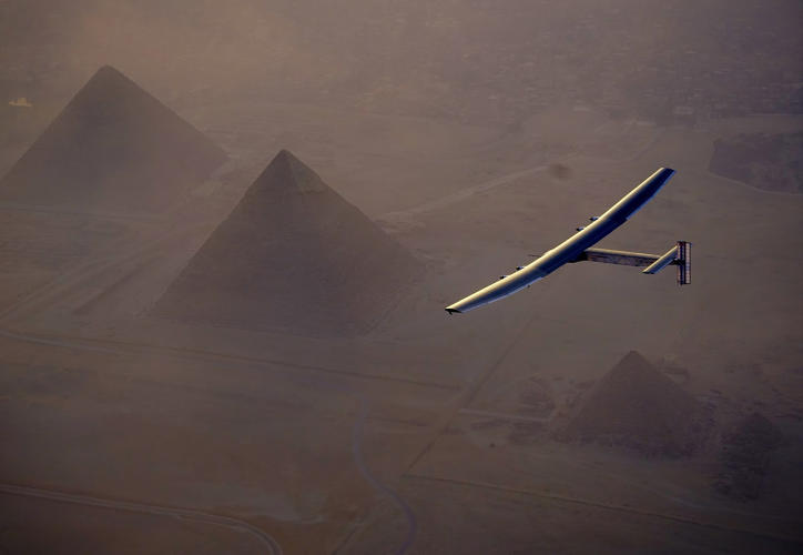 <p>But the solar technology in the Solar Impulse can be used for unmanned, high-altitude drones.</p>