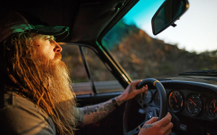 <p>Magnus Walker, from <em>The Drive</em>, © Gestalten 2016</p>