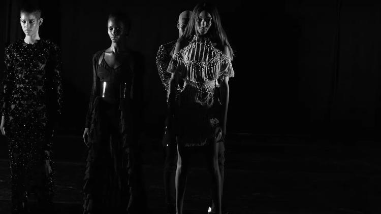 <p>A still from the video for &quot;Wolves&quot;</p>