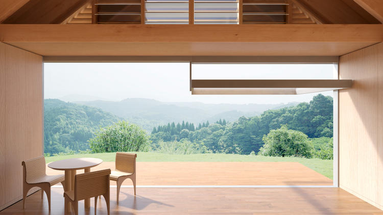 <p>Shigeru Ban sandwiched cardboard between two thin panels to provide both strength and lightness.</p>