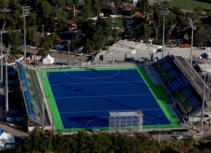 <p>The Olympic Hockey Centre, for field hockey matches.</p>
