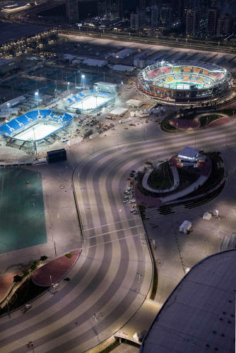 <p>Parts of other buildings, like the 18,000-plus seats inside the Olympic Tennis Center, will be reused elsewhere.</p>