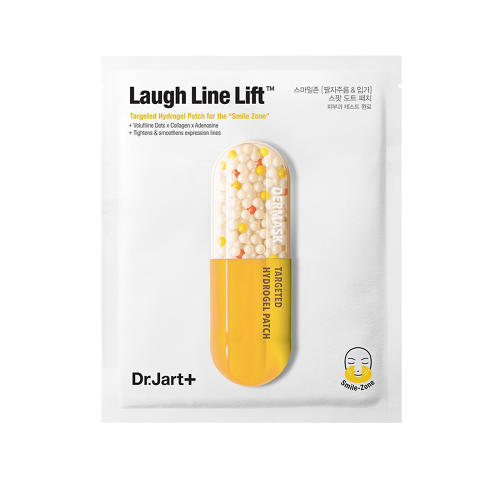 <p>Dr. Jart+ Dermask Laugh Line Lift has skin-firming hydrogel patches to target deep lines saggy skin ($12, birchbox.com).</p>