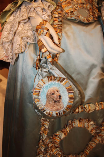 <p>A replica of Terry Dresbach's dog, Cuilean, who has his own fan following, shows up in each season.</p>