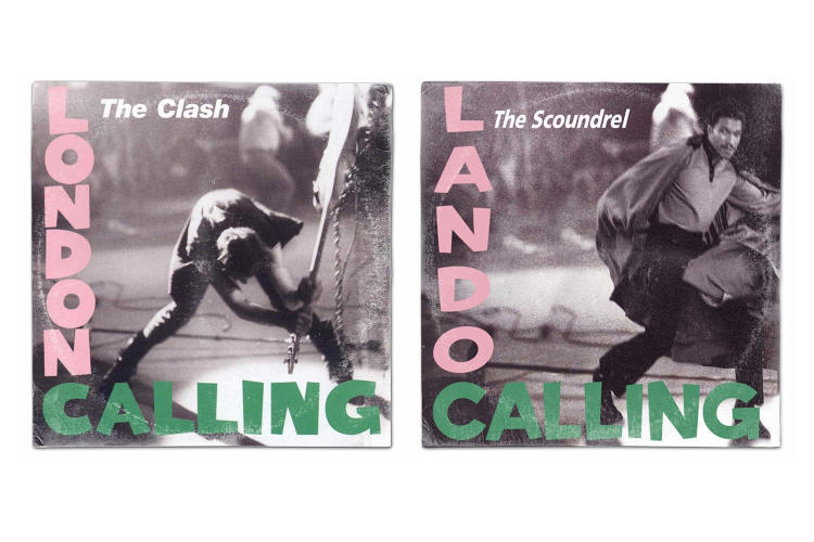 <p>The Clash's <em>London Calling</em></p>