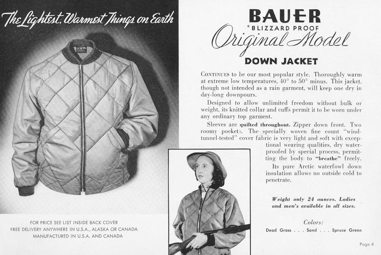 <p>Catalog from 1945 featuring the Skyliner jacket.</p>