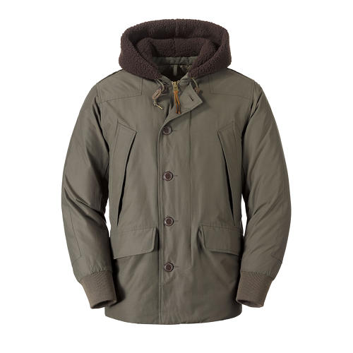 <p>Men's 1942 B-9 Down Parka from the EB Originals collection.</p>