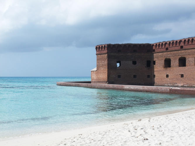 <p>Dry Tortugas National Park in Florida could be underwater by the end of the century.</p>