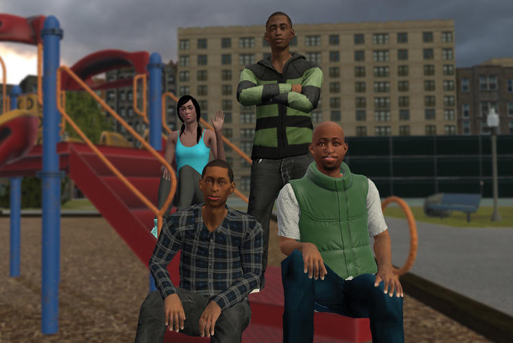 <p><em>We Are Chicago</em> is a first-person adventure, in which you play as Aaron, a black teen living in a single-parent household on the South Side.</p>