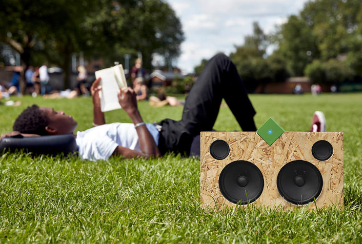 <p>The Vamp Stereo and Vamp Speaker are packaged together for backers of the Kickstarter campaign and priced at £79, or about $105.</p>