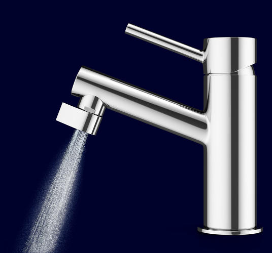 <p>Despite its appearance, the designers claim that the tiny mist is powerful enough to clean hands as well as an ordinary faucet.</p>