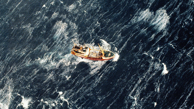 <p>Global Fishing Watch maps out broadcast data that tracks ships using satellites.</p>