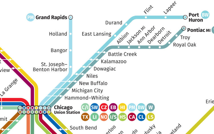 <p>Designer Cameron Booth, who created the map, is a self-described transit nerd.</p>