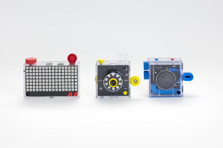 <p>The London-based company is launching three new products: a pixel grid, a camera, and a Bluetooth speaker.</p>