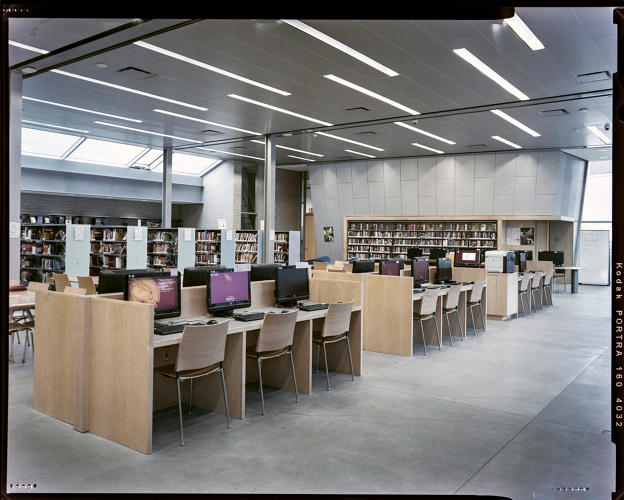 <p>The new Kingsbridge library in the Bronx echoes the contemporary conception of what a library should be.</p>