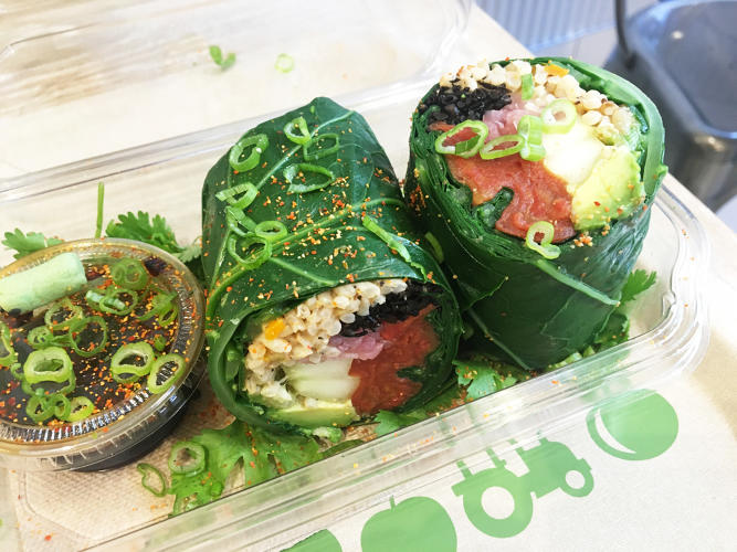 <p>Fresh&amp;Co has experimented with all sorts of odd meat substitutes, from homemade tempeh to Silicon Valley darling Beyond Meat.</p>