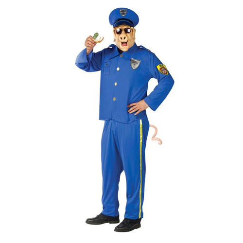 <p>Aside from this costume being an invitation for cops to harass you, it is a tasteless way of putting<a href=&quot;https://www.costumeish.com/collections/adult-costumes/products/adult-officer-mcbacon-funny-police-costume-ca-015825?variant=29003361414&quot; target=&quot;_blank&quot;> a light, goofy spin</a> on all the unarmed black men and women killed by police in the last few years.</p>