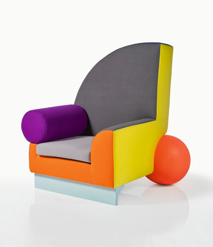 <p>Peter Shire, 'Bel Air' Armchair</p>