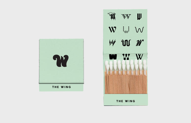<p>Old-timely matchboxes are branded with a series of different Ws, which were inspired by historical and present day powerhouse women.</p>