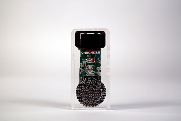 <p>Disguised as a digital radio, it could capture key evidence.</p>