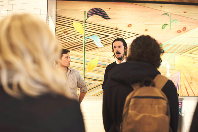 <p>Etsy CTO John Allspaw and Josh Wise, Etsy's director of workplace ecology and design</p>