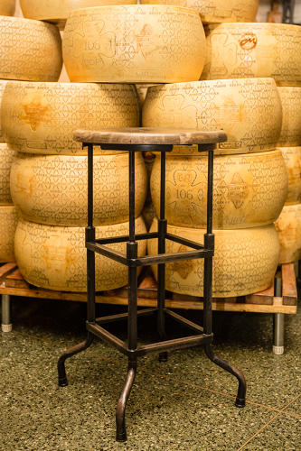 <p>A stool at the Italian marketplace Eataly</p>