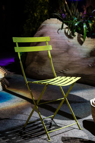 <p>The Fermob bistro chair at the Lowline</p>