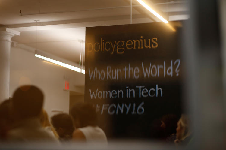 <p>Chalkboard at Policy Genius/Fast Company Innovation Festival event.</p>