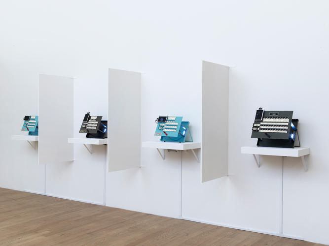 <p>R. Luke DuBois, <em>The Choice is Yours</em>, Installation view.</p>