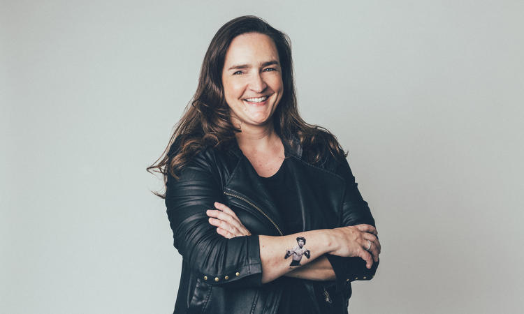 <p><strong>Tina Roth Eisenberg</strong>, founder of Creative Mornings and Tattly</p>