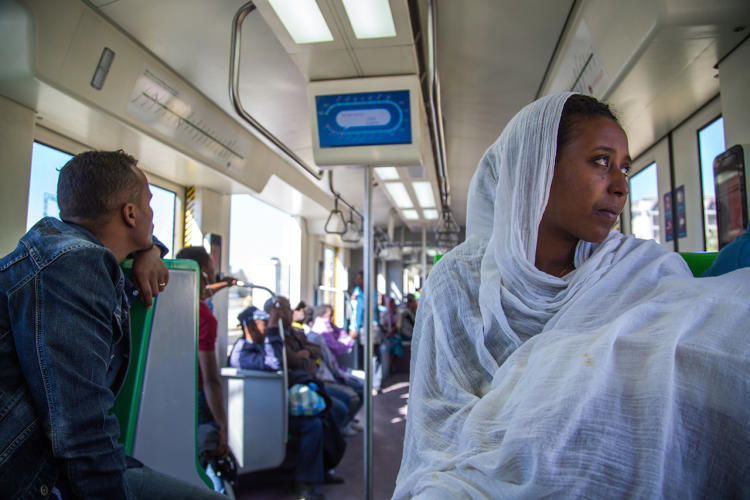 <p>The Addis Ababa Light Rail Transit (LRT) is changing public transportation in a city where almost 60% of the population walks to their destination.</p>