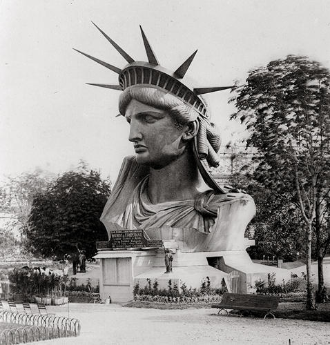 <p>The nimbus--often described as a crown--of the Statue of Liberty represents her divine nature.</p>