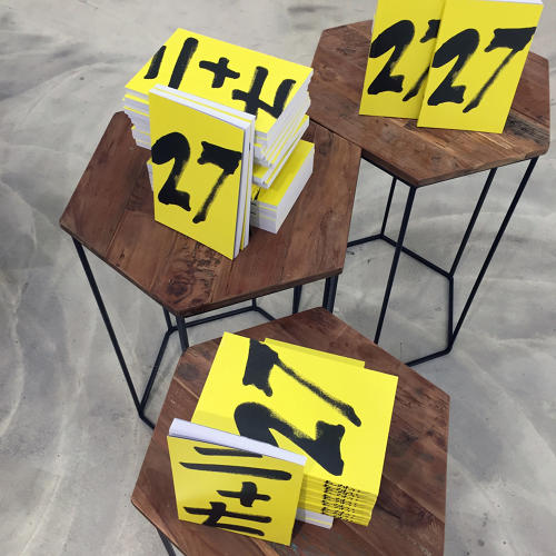 <p>To stock the pop-up bookstore, Amnesty International worked with a group of volunteers to redact the books.</p>