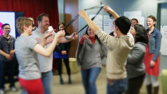It's Not Quite Funny Or Die, But Improv Works To Fuel Powerful Innovation